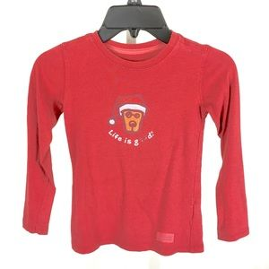 Good Kids Life Is Good Christmas Too Size 2T/3T